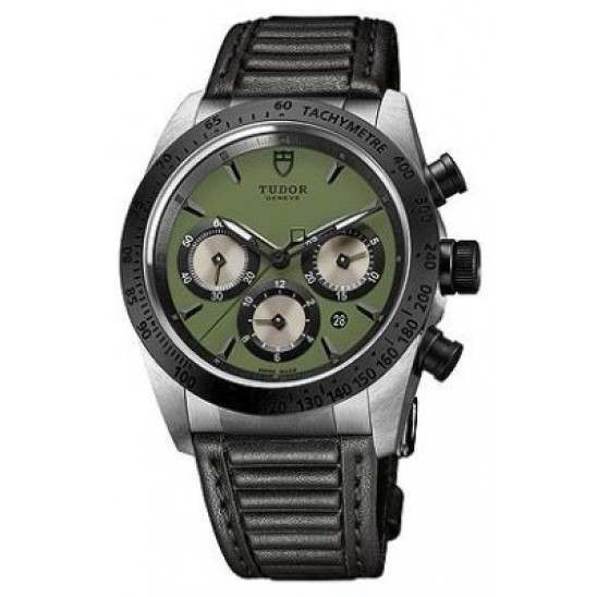 Tudor Fastrider Chrono Automatic Green/Leather 42010N