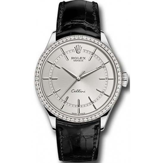 Rolex Cellini White Gold 50709RBR