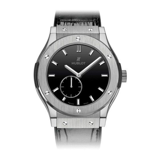 Hublot Classic Fusion Classico Ultra-Thin Titanium Black Shiny Dial