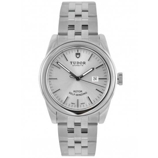 Tudor Glamour Date 31mm Silver Dial 53000