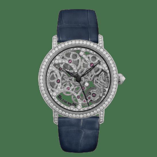 Blancpain Villeret Squelette 8-Day 6633-1900-55B