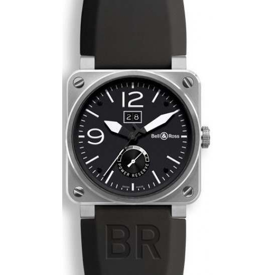 Bell & Ross BR 03-90 Grande Date & Reserve de Marche BR0390-BL-ST