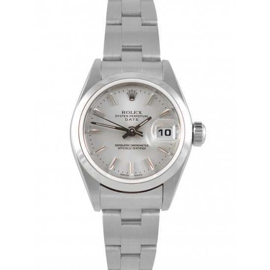 Rolex Lady Datejust Silver/ Index Oyster 79160