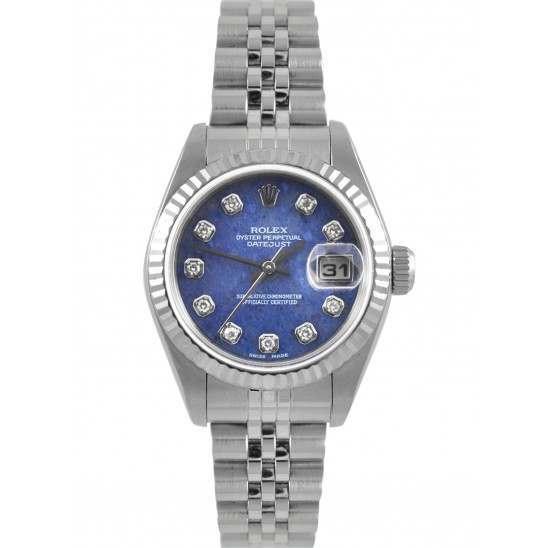 Rolex Lady Datejust Sodalite/ Diamond Jubilee 79174