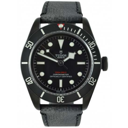 Tudor Heritage Black Bay Dark 79230DK Leather
