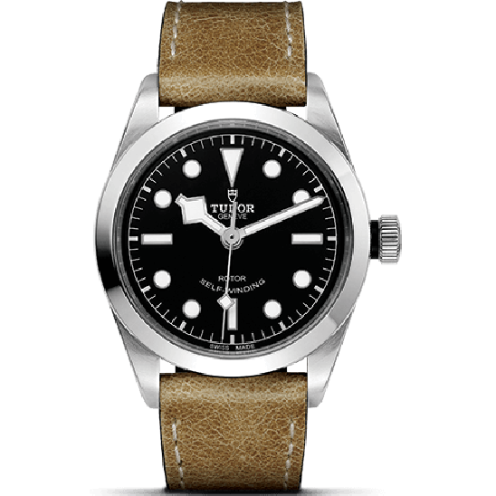 Tudor Heritage Black Bay 36 79500 Leather