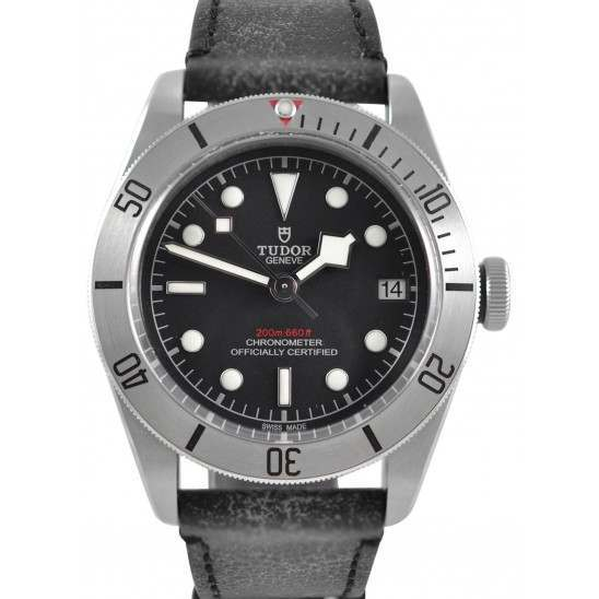 Tudor Heritage Black Bay Leather Strap 79730
