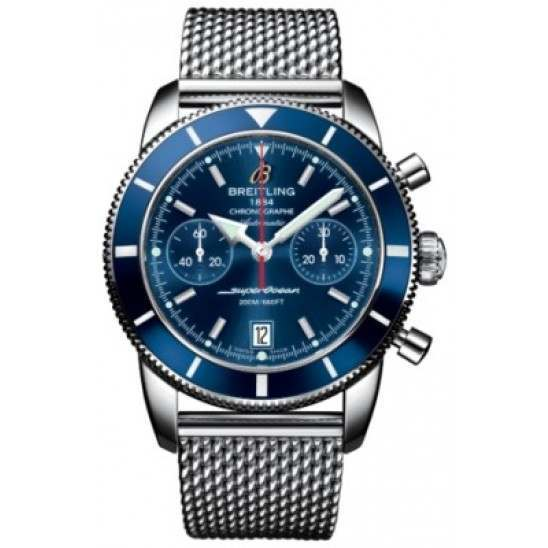 Breitling Superocean Heritage Chronographe 44 Caliber 23 Automatic Chronograph A2337016C856154A