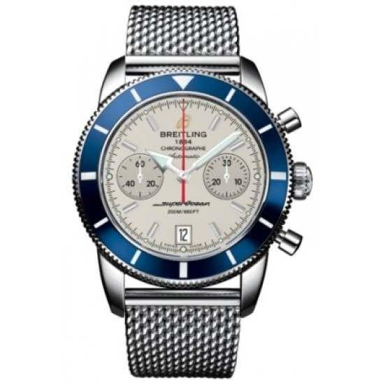Breitling Superocean Heritage Chronographe 44 Caliber 23 Automatic Chronograph A2337016G753154A
