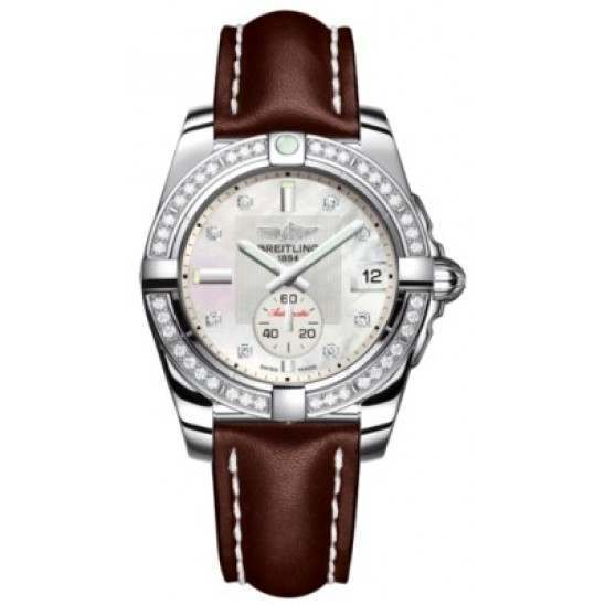 Breitling Galactic 36 (Polished Steel/ Diamonds) Caliber 37 Automatic A3733053.A717.416X