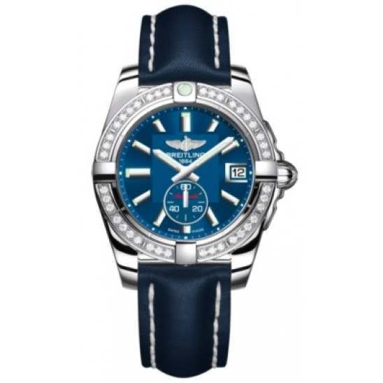 Breitling Galactic 36 (Polished Steel/ Diamonds) Caliber 37 Automatic A3733053.C824.194X