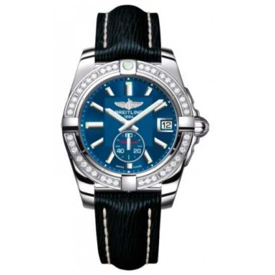 Breitling Galactic 36 (Polished Steel/ Diamonds) Caliber 37 Automatic A3733053.C824.215X
