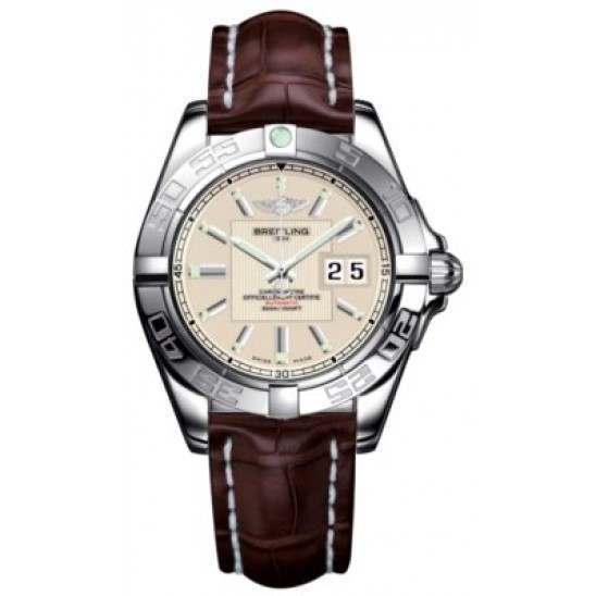 Breitling Galactic 41 (Steel) Caliber 49 Automatic A49350L2.G699.724P