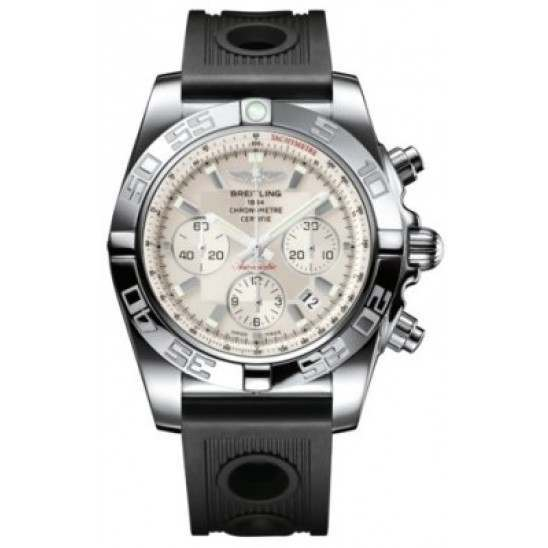 Breitling Chronomat 44 (Polished) Caliber 01 Automatic Chronograph AB011012.G684.200S