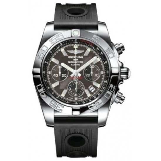 Breitling Chronomat 44 Polished Caliber 01 Automatic Chronograph AB011012M524200S