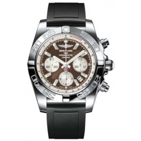 Breitling Chronomat 44 Polished Caliber 01 Automatic Chronograph AB011012Q575131S