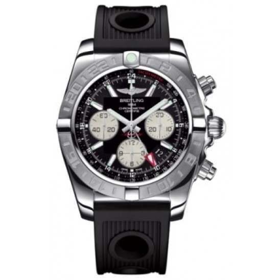Breitling Chronomat 44 GMT (Steel) Caliber 04 Automatic Chronograph AB042011.BB56.200S