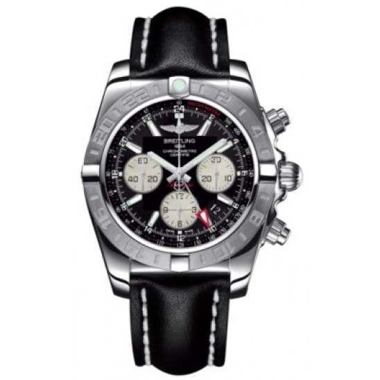 Breitling Chronomat 44 GMT (Steel) Caliber 04 Automatic Chronograph AB042011.BB56.435X