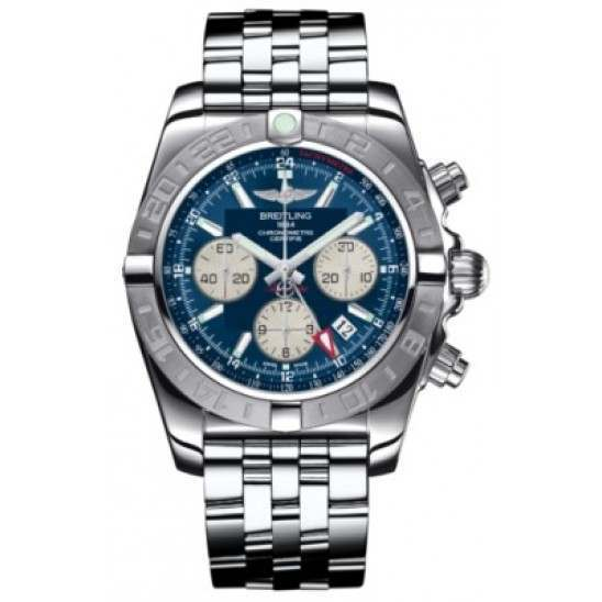 Breitling Chronomat 44 GMT (Steel) Caliber 04 Automatic Chronograph AB042011.C851.375A