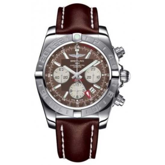 Breitling Chronomat 44 GMT (Steel) Caliber 04 Automatic Chronograph AB042011.Q589.437X