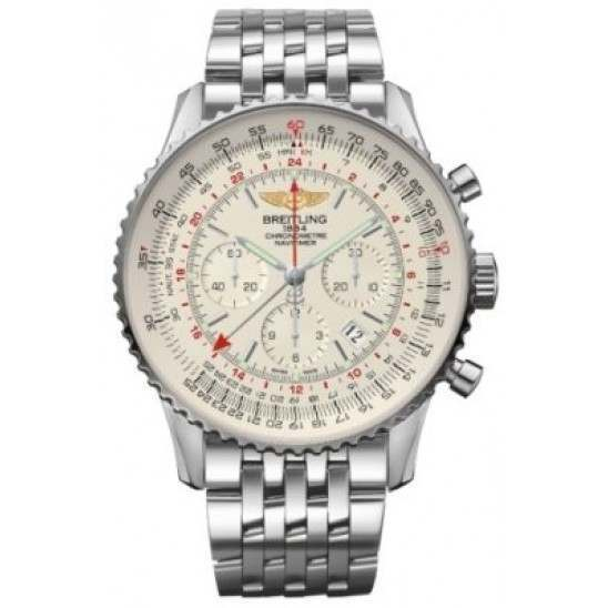 Breitling Navitimer GMT Caliber 04 Automatic Chronograph AB044121.G783.443A