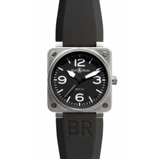 Bell  Ross BR0192 Steel Black