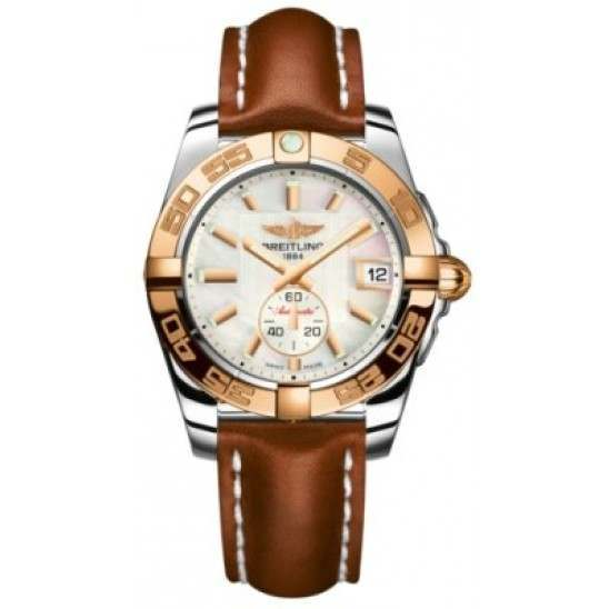 Breitling Galactic 36 (Steel & Rose Gold) Caliber 37 Automatic C3733012.A724.412X