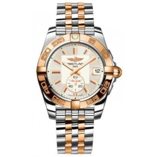 Breitling Galactic 36 (Steel & Rose Gold) Caliber 37 Automatic C3733012.G714.376C