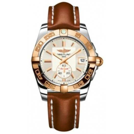 Breitling Galactic 36 (Steel & Rose Gold) Caliber 37 Automatic C3733012.G714.412X