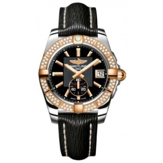 Breitling Galactic 36 (Steel & Rose Gold/ Diamonds) Caliber 37 Automatic C3733053.BA54.213X