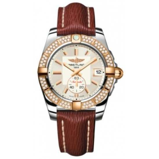 Breitling Galactic 36 (Steel & Rose Gold/ Diamonds) Caliber 37 Automatic C3733053.G714.216X