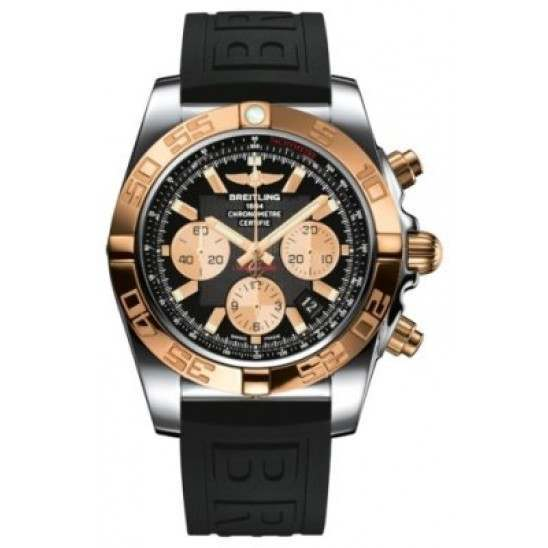 Breitling Chronomat 44 (Steel & Gold) Caliber 01 Automatic Chronograph CB011012.B968.152S