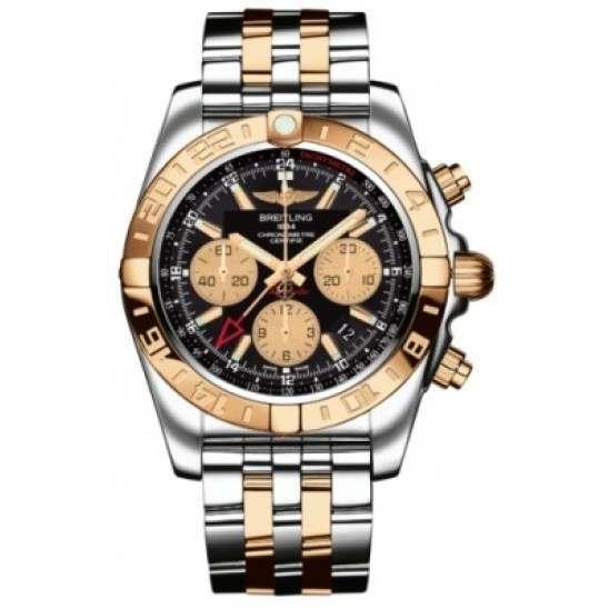 Breitling Chronomat 44 GMT (Steel & Rose Gold) Caliber 05 Automatic Chronograph CB042012.BB86.375C