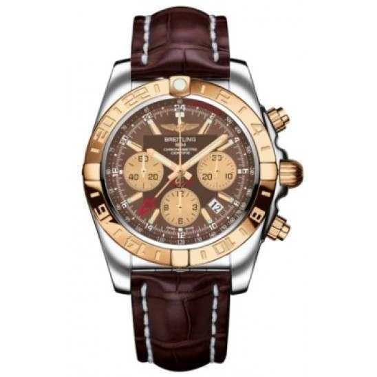 Breitling Chronomat 44 GMT (Steel & Rose Gold) Caliber 05 Automatic Chronograph CB042012.Q590.739P
