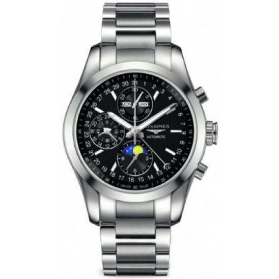 Longines Conquest Classic Moonphase Automatic Chrono L2.798.4.52.6