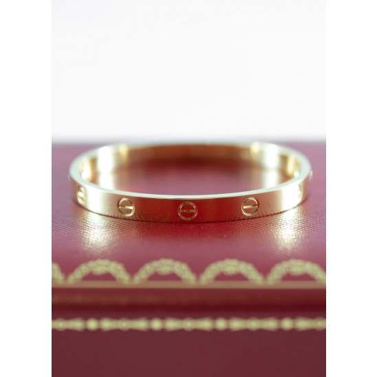 Cartier Love Bracelet Yellow Gold size 17 B6035517