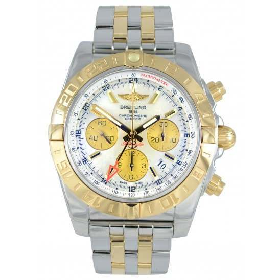 Breitling Chronomat 44 GMT Automatic Chronograph CB042012.A739.375C