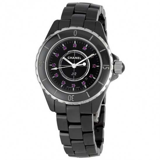 Chanel J12 Quartz 33mm Ladies H1634
