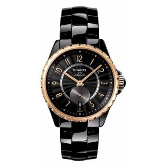 Chanel J12 Black Classic Automatic H3838