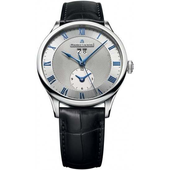 Maurice Lacroix Masterpiece Date GMT MP6707-SS001-110