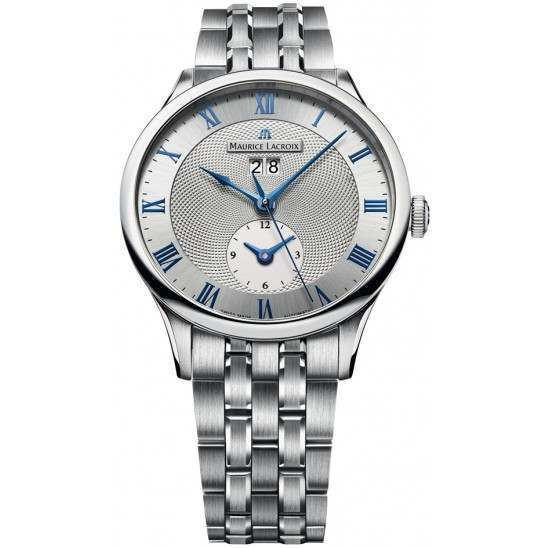 Maurice Lacroix Masterpiece Date GMT MP6707-SS002-110