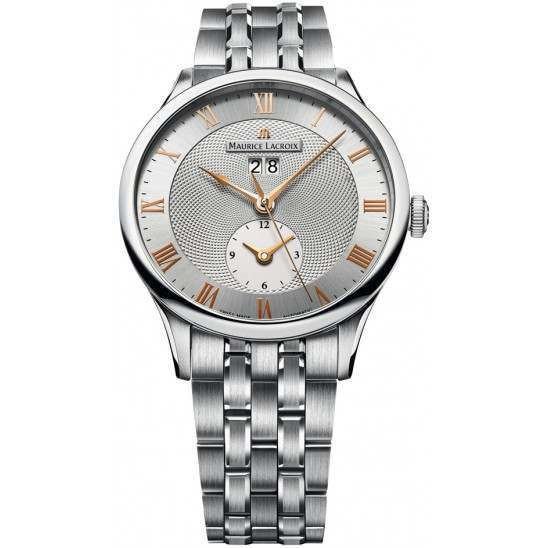 Maurice Lacroix Masterpiece Date GMT MP6707-SS002-111