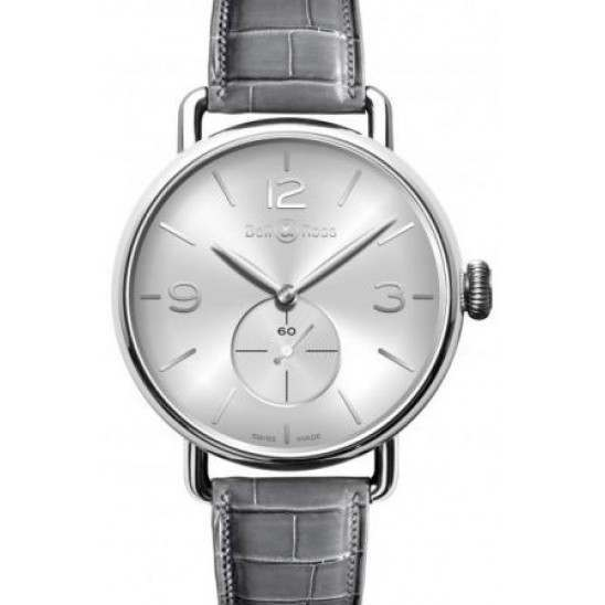 Bell & Ross WW1 Argentium Silver BRWW1-ME-AG-SI/SCR