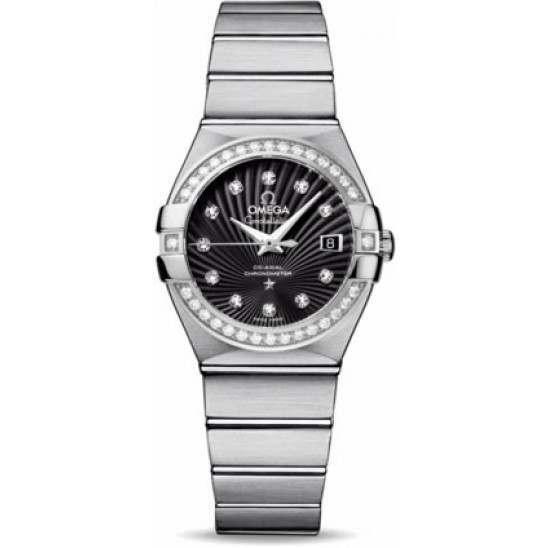 Omega Constellation Brushed Chronometer 123.15.27.20.51.001