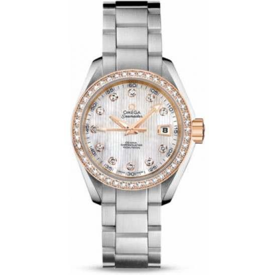 Omega Seamaster Aqua Terra Jewellery Chronometer 231.25.30.20.55.003