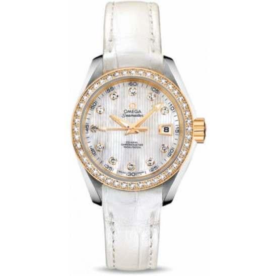 Omega Seamaster Aqua Terra Jewellery Chronometer 231.28.30.20.55.002