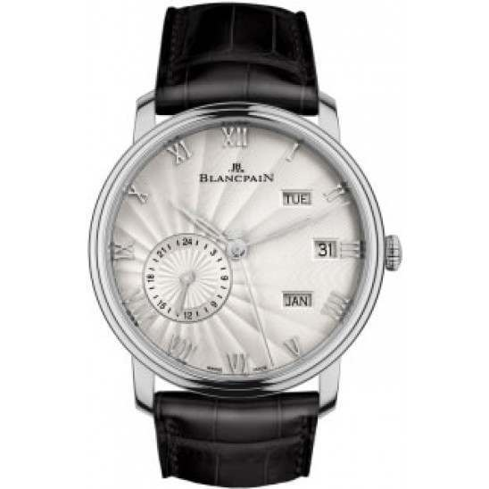 Blancpain Villeret Annual Calendar with GMT 6670-1542-55B