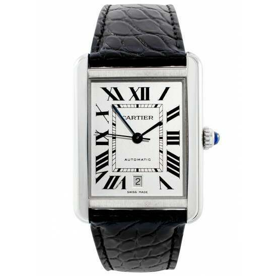 Unworn Cartier Tank Solo Extra-Large Automatic W5200027