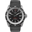 Tudor Grantour Date Black Dial Leather Strap 20500N
