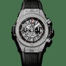 Hublot Unico Titanium Pave 411.NX.1170.RX.1704